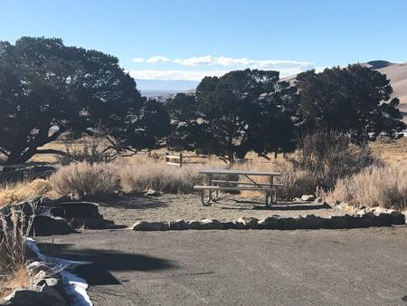 Site 2, Pinon Flats Campground