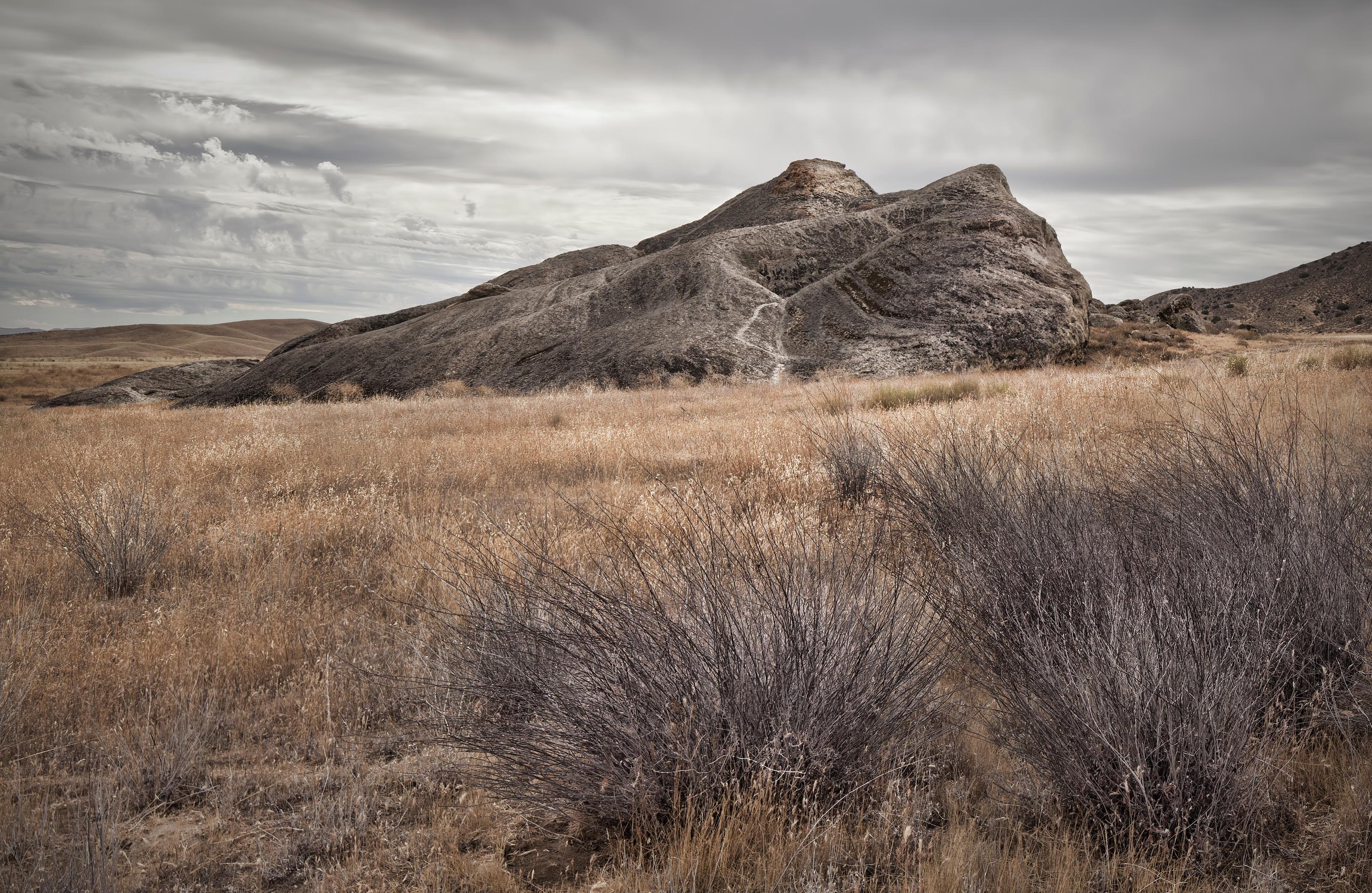 Carrizo Plain Tours - Painted Rock