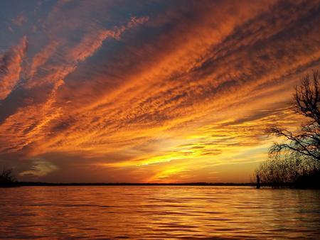 Sunset on Lake Waco