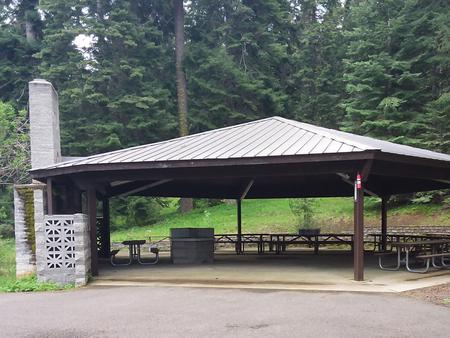 Reservable Mountain View Shelter