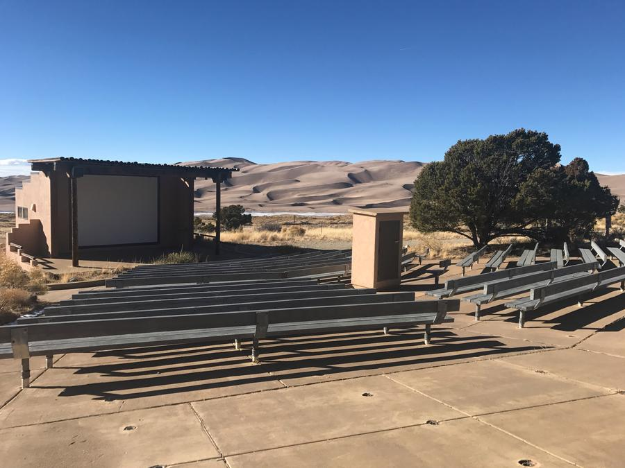 Amphitheater, Pinon Flats Campground