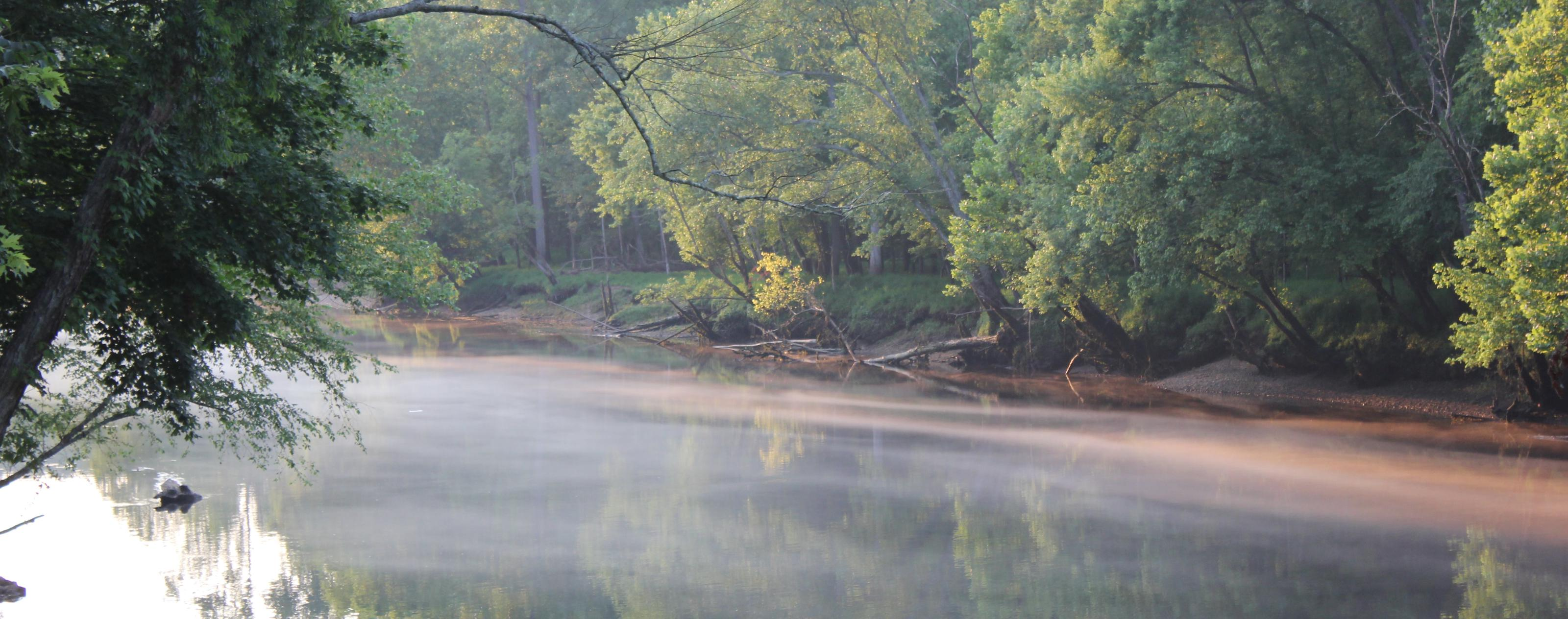 Caney Fork River at Long Branch Campground