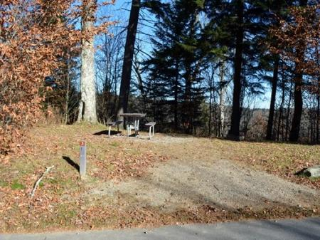 Balsam Mountain Campground Site 3