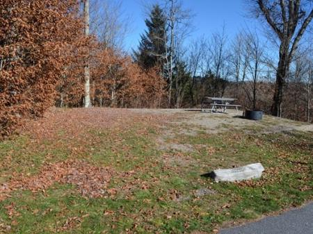 Balsam Mountain Campground  Site 6