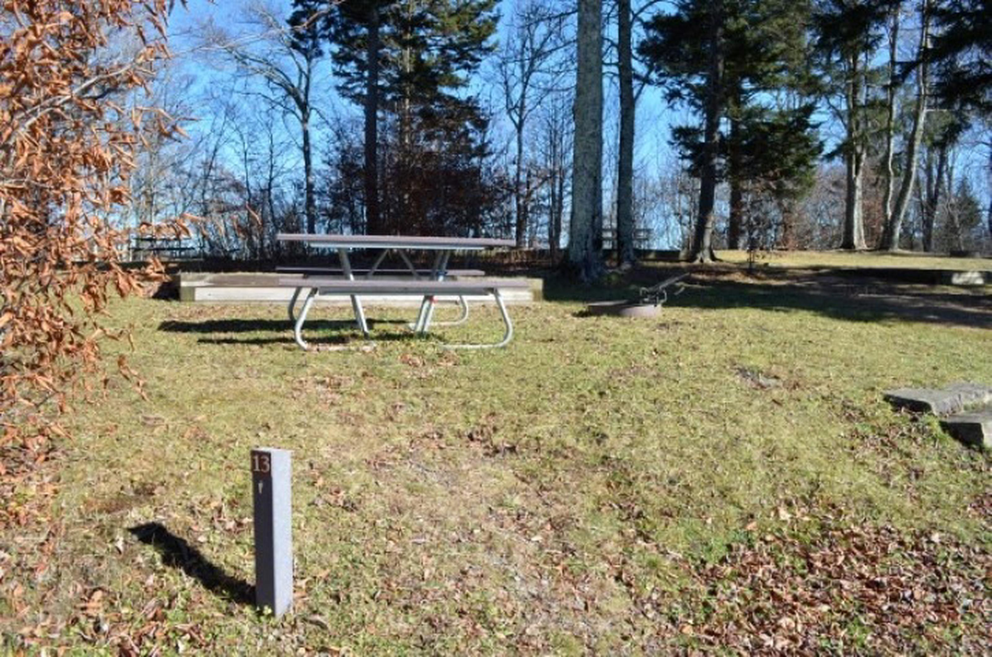 Site 13 Balsam Mountain Campground
