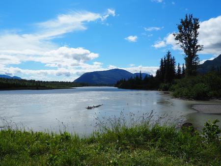 Twin Lakes Cabin scenery