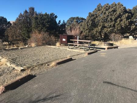 Site #31, Pinon Flats Campground