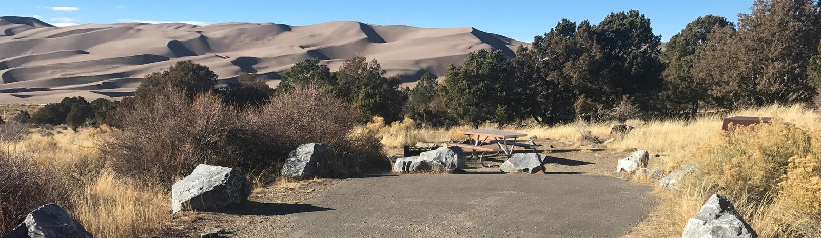 Site #32, Pinon Flats Campground