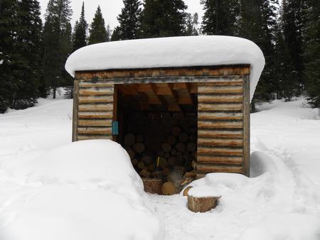 Firewood Shed (situated next to Beaver Creek Cabin)Firewood Shed, situated next to Beaver Creek Cabin (FOR INDOOR USE ONLY)