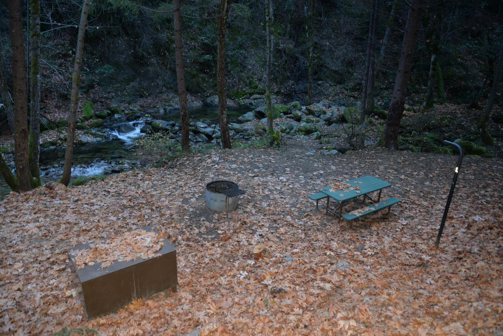 Crystal Creek Campground Site 1
