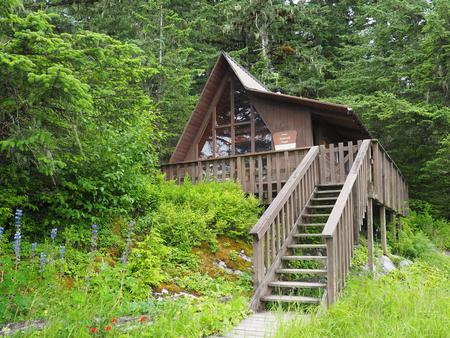 LITTLE DRY ISLAND CABIN EXTERIOR