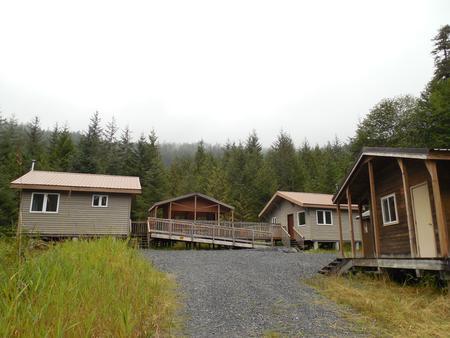 Deep Bay Cabin exterior