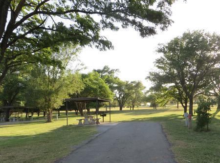 view of campsite 1Campsite 1