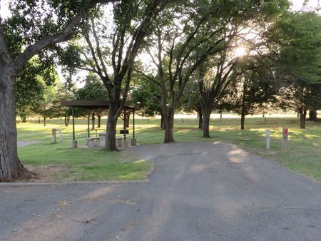 View of campsite 6