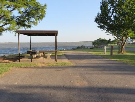 View of Campsite 7