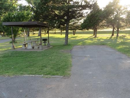 View of campsite 8
