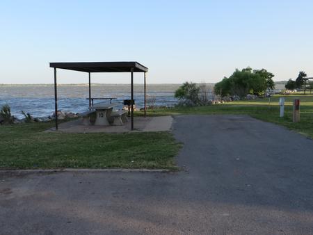 View of campsite 10