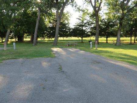 View of campsite 12