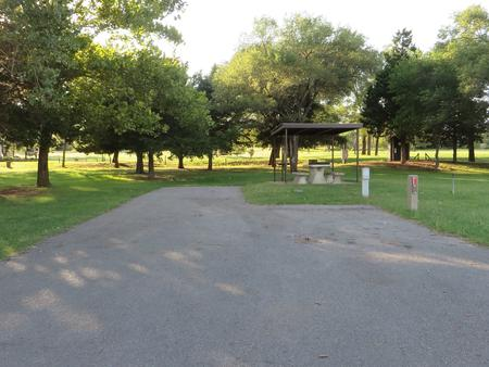 View of campsite 16