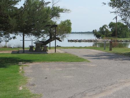 View of Campsite 21