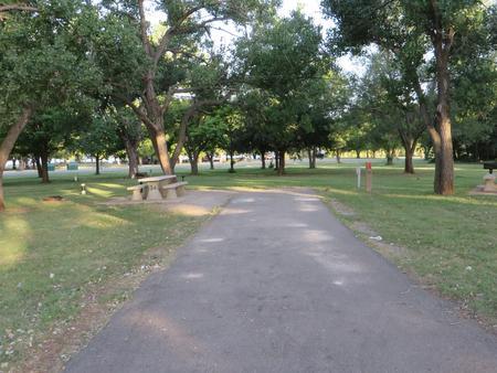 View of campsite 34
