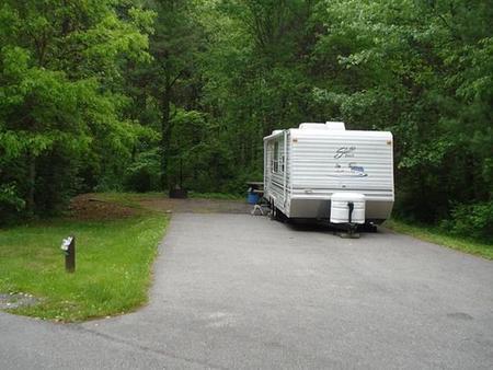 Stony Fork CampgroundClose proximity to bath house #2.