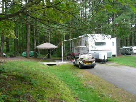 Stony Fork CampgroundThis is a Campground Host site.  Not available to public.