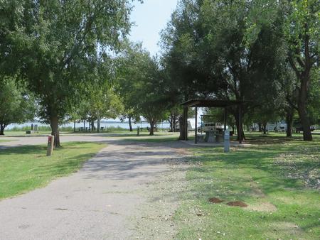 View of campsite 38
