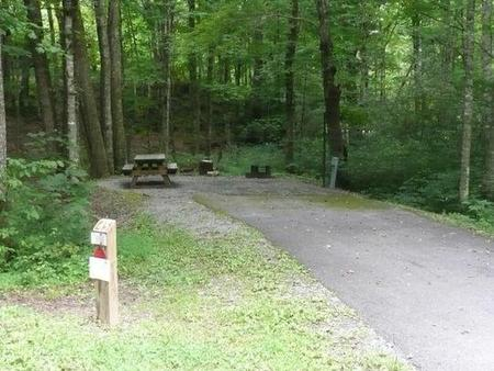 Stony Fork CampgroundShared water hydrant. Close proximity to bath house #3.