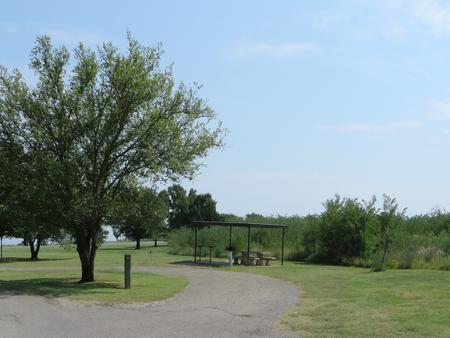 View of campsite 59