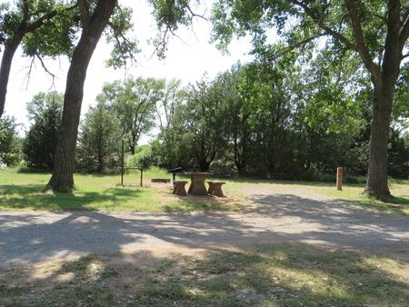 View of campsite 66