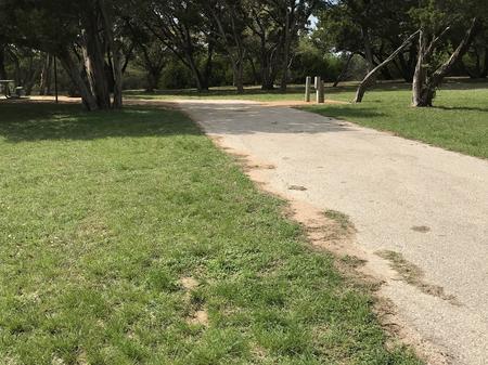 RV site driveway