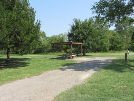 View of campsite 74