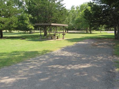 View of campsite 76