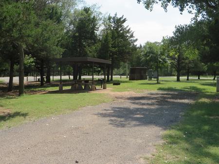 View of campsite 78