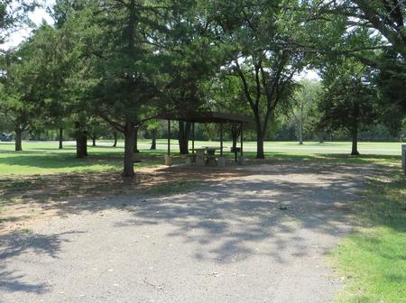 View of campsite 79