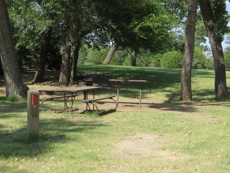 View of campsite 81