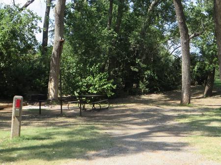 View of campsite 82