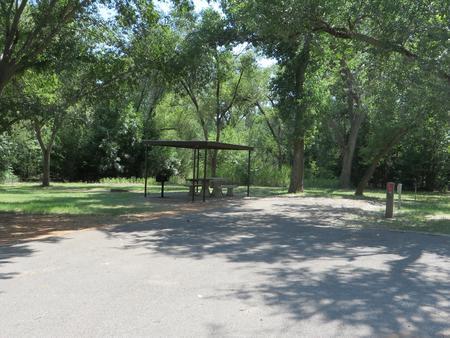 View of campsite 89