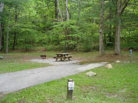Raccoon Branch CampgroundHost Site