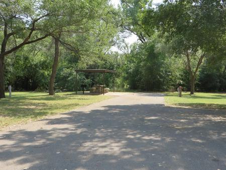 View of campsite 90