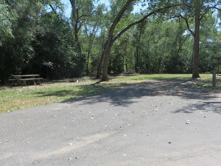 View of campsite 93