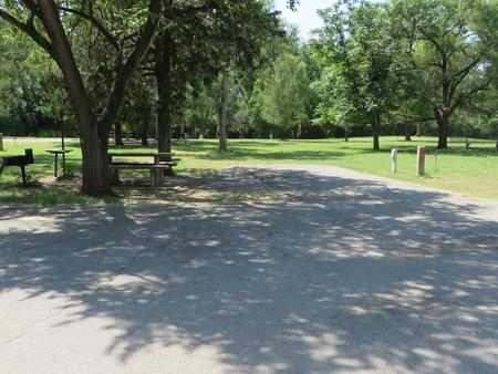 View of campsite 94