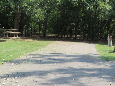 View of campsite 96