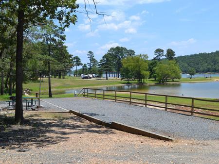 Jefferson Ridge Site 1Campsite 1