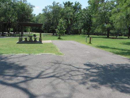 View of campsite 97