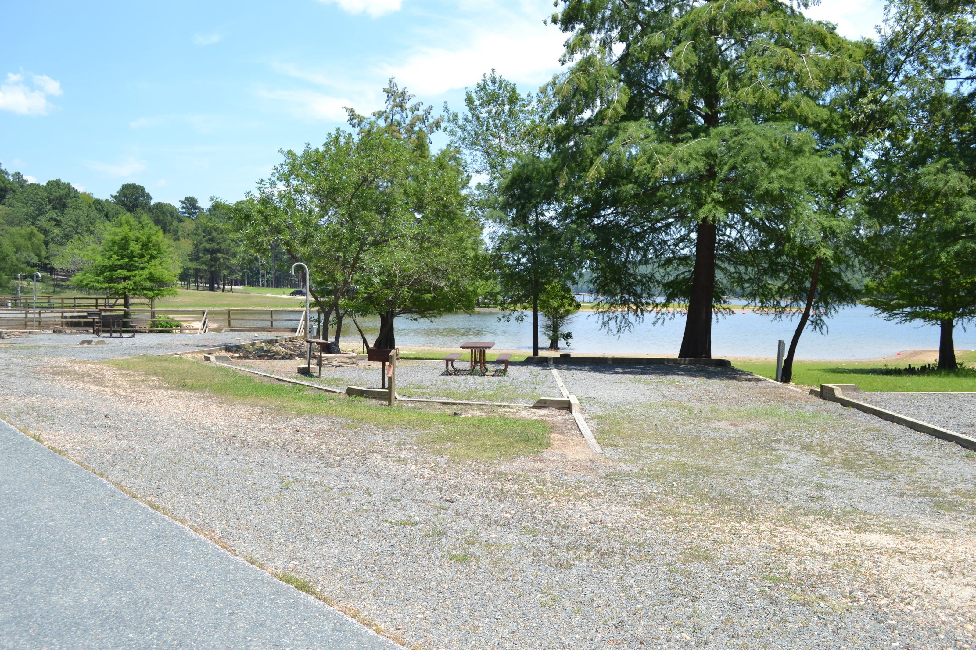 Jefferson Ridge Site 5Campsite 5