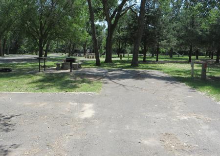 View of campsite 102