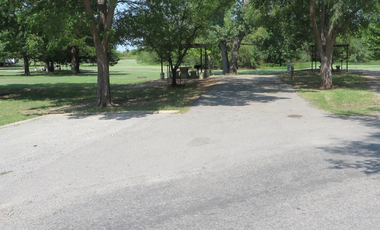 View of campsite 106