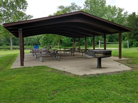 WEST LAWN SHELTER